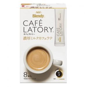 AGF 브랜디 카페라토리 진한 우유 카페라떼 [ 8개입 ]