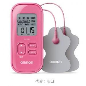 오므론 저주파 마사지기 - 핑크