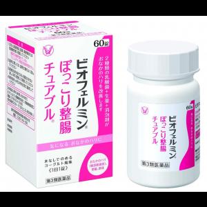 비오페르민 씹어먹는 정장약 (60정)