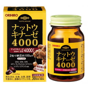 오리히로 낫토키나제4000 (60정)