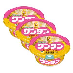 마루짱 완탕 컵만두 계란 국물맛