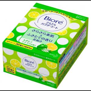 비오레 사라사라 시트 감귤의 향기 리필용 (36매입)