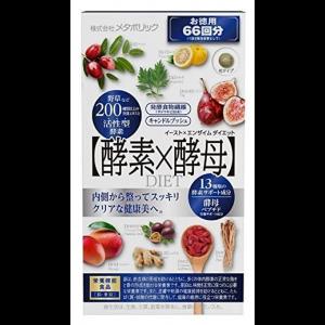 이스트×효소 다이어트 66회분 (132정)