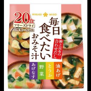 히카리 매일 먹고 싶은 된장국 (20개입) 1봉지