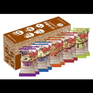 아사히식품 된장국 5종세트 (10개입) 1박스