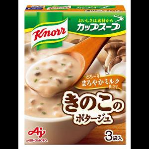 아지노모토 쿠노르 컵스프 우유 버섯 포타주 1상자 (3개입)