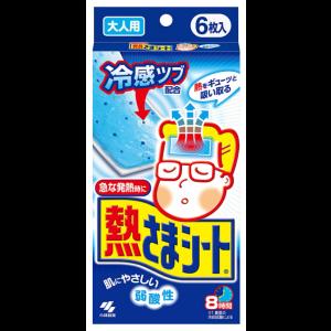 해열 냉각시트 어른용 6매