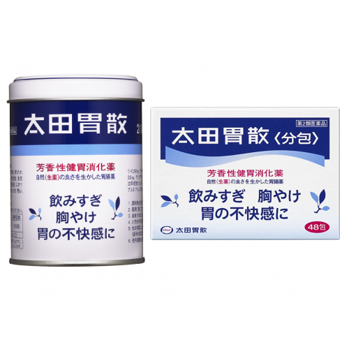 오타이산 가루약 210g(캔형1개) + 오타이산 가루약 48포(포형1개) (총 2개 세트)