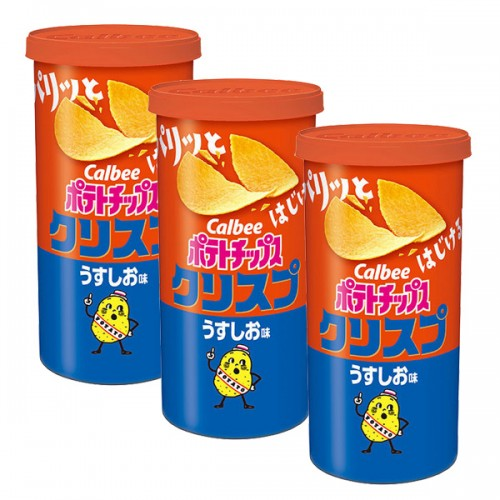 칼비 감자칩 크리스프 소금맛 50g (3개세트)