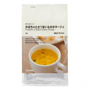 무인양품 호박과 고구마 스프 1봉지 (4팩)