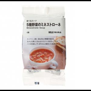 무인양품  5종 야채의 미네스트로네 1봉(4팩)