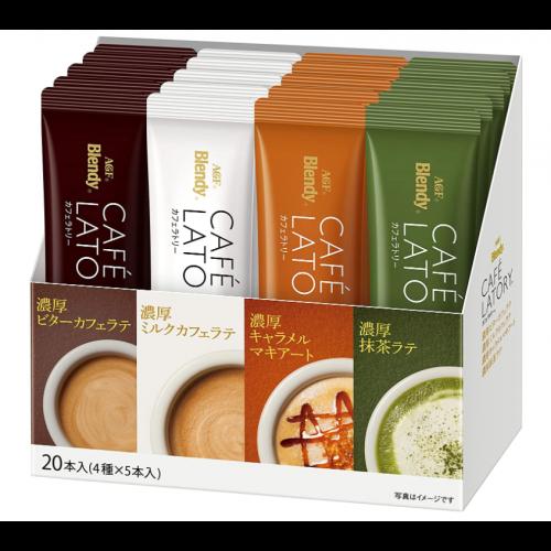 AGF 브랜디 카페라토리 4종 커피세트 (20개입)