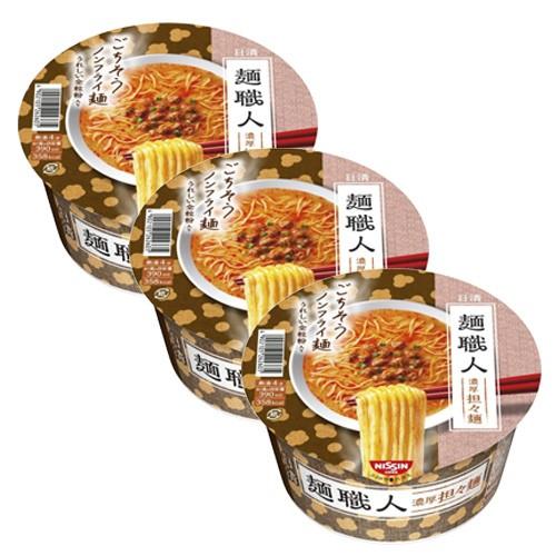 닛신 면장인 탄탄면 (3개 세트)