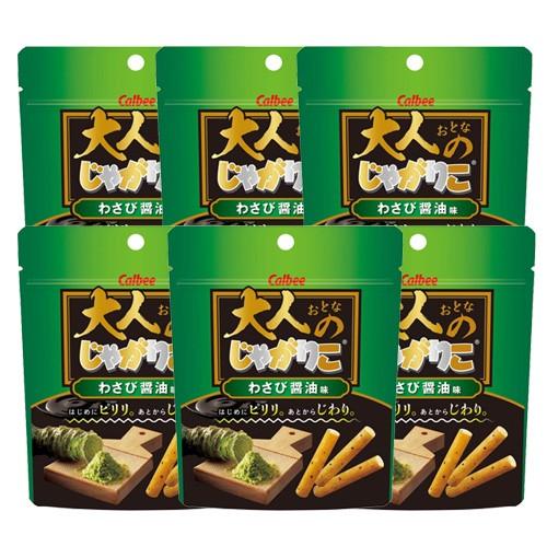 칼비 자가리코 와사비 간장맛 38g (6개 세트)