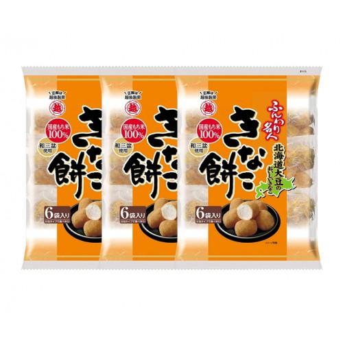 에치고 제과 명인 콩가루 인절미과자 (3개 세트)
