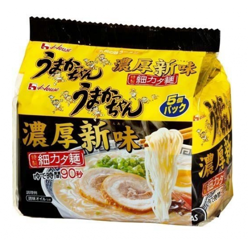 우마캇짱 규슈의 매운맛 짙은 돈코츠 라멘 (5개입)