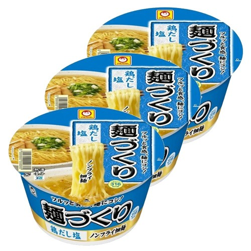 마루짱 치킨 소금 컵라면 (3개 세트)