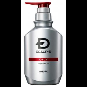 ANGFA 스칼프D 두피 약용 샴푸 지성피부용 남성용 350ml