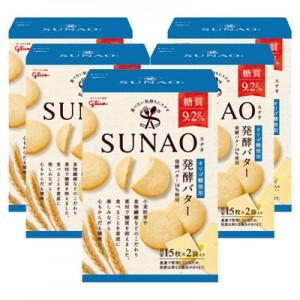 에자키 글리코 SUNAO(스나오) 발효 버터 쿠키 (5개 세트)