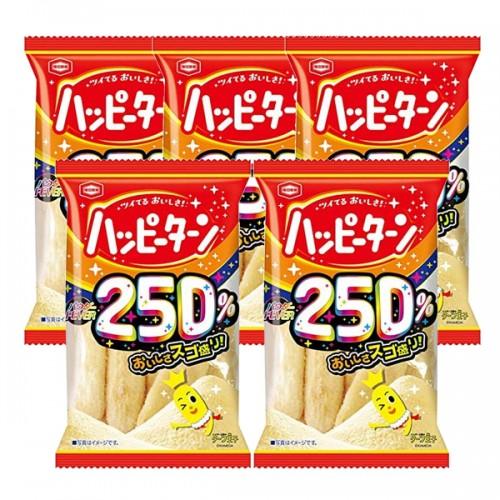카메다 제과 찹쌀가루 250% 쌀과자 (5개 세트)