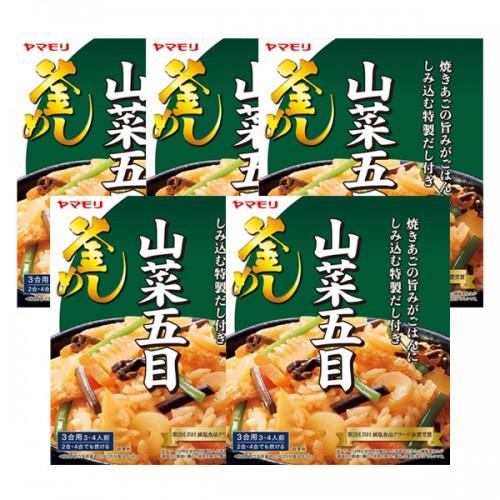 야마모리 산채 비빔 솥밥 240g (5개 세트)