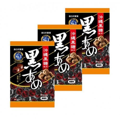 카스가이 구로아메 흑사탕 (3개 세트)